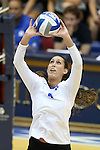 11 September 2015: Duke's Maggie Deichmeister. The Duke University Devils hosted the Stanford University Cardinal at Cameron Indoor Stadium in Durham, NC in a 2015 NCAA Division I Women's Volleyball contest. Stanford won the match 3-2 (17-25, 25-22, 17-25, 25-23, 10-15).