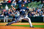 2 March 2009: New York Yankees' pitcher George Kontos on the mound during a Spring Training game against the Houston Astros at Osceola County Stadium in Kissimmee, Florida. The teams played to a 5-5, 9-inning tie. Mandatory Photo Credit: Ed Wolfstein Photo