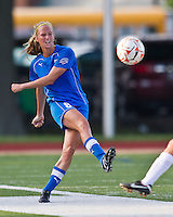 Boston Breakers defender Julie King (8).  The Boston Breakers beat the Chicago Red Stars 1-0 at Dilboy Stadium.