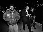WASHINGTON D.C - January 20, 1997: The entrance to one of the 14 inaugural balls in honor of Democrat Bill Clinton's inauguration as President of the United States. The 14 balls were the largest number of official inaugural balls ever held in American history.