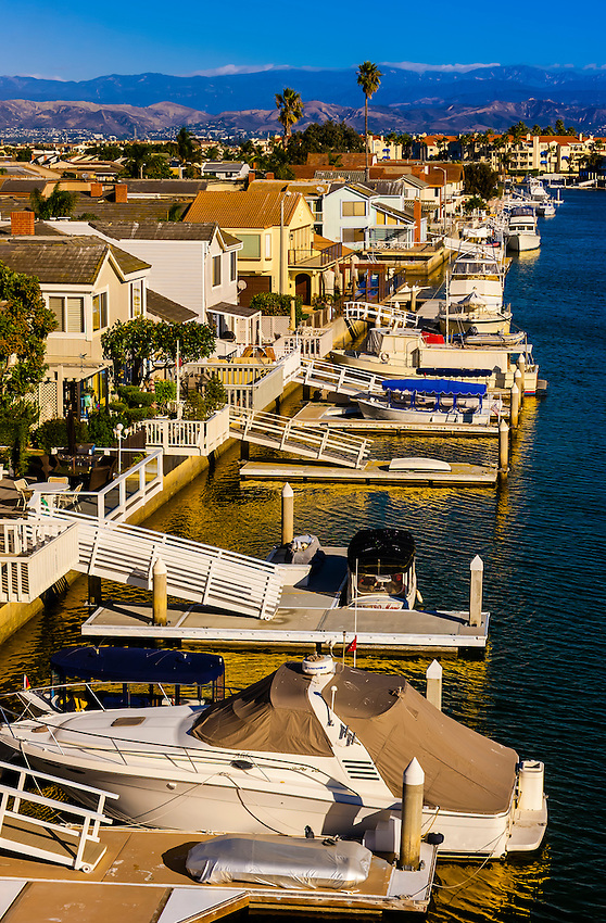 Channel Islands Harbor, Oxnard, California USA