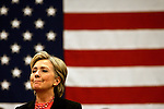 Hampton, New Hampshire, USA, 20080106: Presidential Hopeful Hillary Clinton speaking at the Winnacunnet High School.....Photo: Orjan F. Ellingvag/ Dagens Naringsliv/ Corbis
