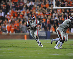 Ole Miss' Brandon Bolden (34) runs vs. Auburn at Jordan-Hare Stadium in Auburn, Ala. on Saturday, October 29, 2011. .