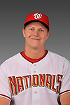 14 March 2008: ..Portrait of Erik Arnesen, Washington Nationals Minor League player at Spring Training Camp 2008..Mandatory Photo Credit: Ed Wolfstein Photo