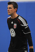 DC United goalkeeper Steve Cronin (1)   at the first official training session of the 2011 MLS season.  At Greenbelt Sportsplex, Friday January 28, 2011.
