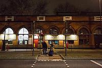 "16.12.2015 - ""Solidarity NOT Charity"" - Camden, King's Cross, Euston Station"