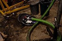 Braddock, PA, January 31, 2012 - Fossil Free Fuel.