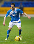 St Johnstone FC U20&rsquo;s Season 2016-17<br />Cameron Thomson<br />Picture by Graeme Hart.<br />Copyright Perthshire Picture Agency<br />Tel: 01738 623350  Mobile: 07990 594431