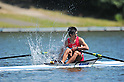 Takahiro Suda (JPN), SEPTEMBER 18, 2011 - Rowing : The 89th All Japan Rowing Championships during the Race A final of Men's Single Sculls at the Toda Olympic Rowing Course, Saitama, Japan. (Photo by Jun Tsukida/AFLO SPORT) [0003]