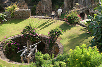 The sugar mill ruins at Estate Washington<br /> St. Croix, US Virgin Islands