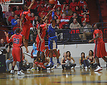 Kentucky's Terrence Jones (3)  shoots at the C.M. &quot;Tad&quot; Smith Coliseum in Oxford, Miss. on Tuesday, February 1, 2011. Ole Miss won 71-69.