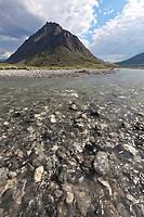 Marsh Fork of the Canning river, Arctic National Wildlife Refuge, Brooks range mountains, Alaska.