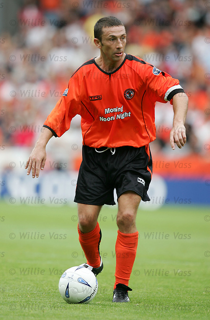 Derek McInnes, Dundee Utd.stock season 2004-2005.pic willie vass