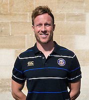 Strength and Conditioning Coach Mark Atkinson poses for a portrait at a Bath Rugby photocall. Bath Rugby Media Day on September 8, 2015 at Farleigh House in Bath, England. Photo by: Rogan Thomson for Onside Images