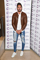Mario Falcone arriving at James Ingham&rsquo;s Jog On to Cancer, in aid of Cancer Research UK at The Roof Gardens in Kensington, London.  <br /> 12 April  2017<br /> Picture: Steve Vas/Featureflash/SilverHub 0208 004 5359 sales@silverhubmedia.com
