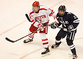 Charlie McAvoy (BU - 7), Ted Hart (Yale - 19) The Boston University Terriers defeated the visiting Yale University Bulldogs 5-2 on Tuesday, December 13, 2016, at the Agganis Arena in Boston, Massachusetts.