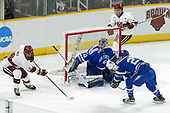 Tyler Moy (Harvard - 2), Shane Starrett (AFA - 40), Sean Malone (Harvard - 17), Erik Baskin (AFA - 27) - The Harvard University Crimson defeated the Air Force Academy Falcons 3-2 in the NCAA East Regional final on Saturday, March 25, 2017, at the Dunkin' Donuts Center in Providence, Rhode Island.