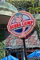 Buba Gump, Restaurant,  Universal City, Ca, Citywalk, Universal studios, holiday,  travel, us, usa, vacation,