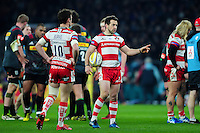 Greig Laidlaw of Gloucester Rugby. Aviva Premiership match, between Harlequins and Gloucester Rugby on December 27, 2016 at Twickenham Stadium in London, England. Photo by: Patrick Khachfe / JMP