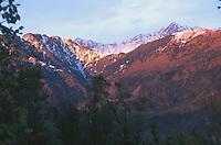 Landscape of the Dhauladhar mountain range.