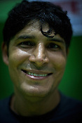 Deep Chand, one of the member of the Indian Kabbadi team poses for a portrait at a month long camp in Sport Authority of India Sports Complex in Bisankhedi, outskirts of Bhopal, Madhya Pradesh, India.