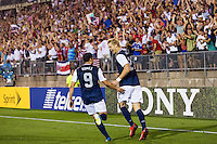 The United States defeated Costa Rica 1-0 during a CONCACAF Gold Cup group B match at Rentschler Field in East Hartford, CT, on July 16, 2013.