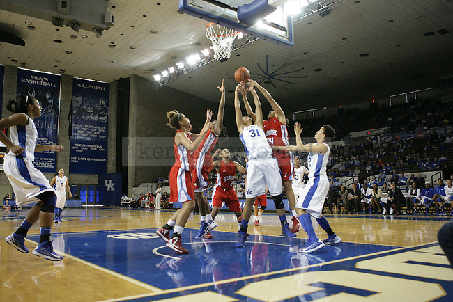 during the second half of the UK Hoops game v. Delaware State University at Memorial Coliseum in Lexington, Ky., on Saturday, November 10, 2012 November 10, 2012. .Photo by Emily Wuetcher | Staff