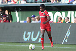 19 June 2015: Portland's Genoveva Ayo Anonma (EQG). The Portland Thorns FC hosted FC Kansas City at Providence Park in Portland, Oregon in a National Women's Soccer League 2015 regular season match. The game ended in a 1-1 tie.