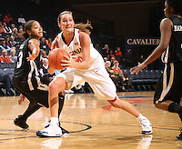 Virginia women's basketball Chelsea Shine.
