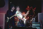 David Gilmour, Mick Ralphs, Chris Slade, 1983,
