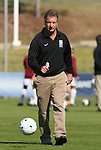 04 November 2009: Duke head coach Robbie Church. The Florida State University Seminoles defeated the Duke University Blue Devils 2-0 at Koka Booth Stadium in WakeMed Soccer Park in Cary, North Carolina in an Atlantic Coast Conference Women's Soccer Tournament Quarterfinal game.