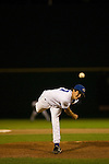5/4/07 Omaha, NE  Pat Venditte Jr., an ambidextrous pitcher for Creighton University, pitches in a game Friday night against Southern Illinois University.(photo by Chris Machian/for Prairie Pixel Group).