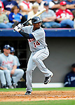 9 March 2010: Detroit Tigers' outfielder Austin Jackson in action during a Spring Training game against the Washington Nationals at Space Coast Stadium in Viera, Florida. The Tigers defeated the Nationals 9-4 in Grapefruit League action. Mandatory Credit: Ed Wolfstein Photo