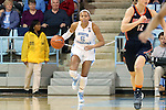 20 November 2016: North Carolina's Stephanie Watts. The University of North Carolina Tar Heels hosted the Bucknell University Bisons at Carmichael Arena in Chapel Hill, North Carolina in a 2016-17 NCAA Women's Basketball game. UNC won the game 65-50.
