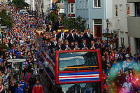 Euro 2016: Iceland shows up to welcome home their national team