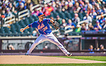 21 April 2013: New York Mets starting pitcher Dillon Gee on the mound against the Washington Nationals at Citi Field in Flushing, NY. The Mets shut out the visiting Nationals 2-0, taking the rubber match of their 3-game weekend series. Mandatory Credit: Ed Wolfstein Photo *** RAW (NEF) Image File Available ***
