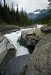 Mistaya Falls in Banff National Park
