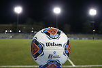 28 November 2015: Wilson NCAA official tournament match ball. The University of North Carolina Tar Heels hosted the Creighton University Bluejays at Fetzer Field in Chapel Hill, NC in a 2015 NCAA Division I Men's Soccer Tournament Third Round match. Creighton won the game 1-0.