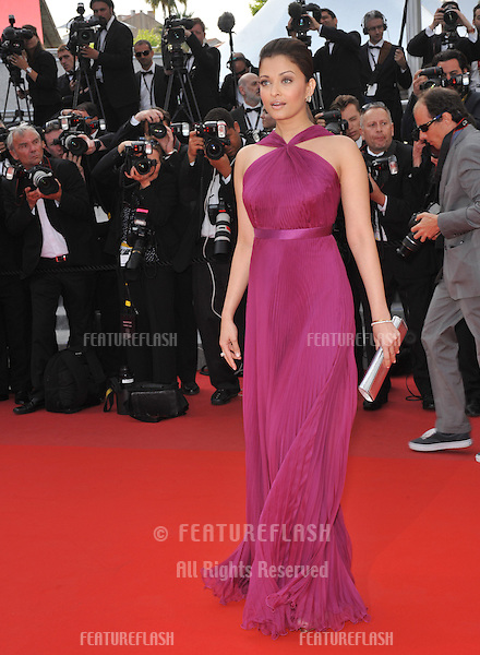 """Aishwarya Rai Bachchan at the premiere screening of """"Wall Street: Money Never Sleeps"""" at the 63rd Festival de Cannes..May 14, 2010  Cannes, France.Picture: Paul Smith / Featureflash"""