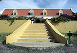 Steps near Willemstad on Curacao