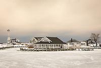 Kimogenor Point in Winter<br /> New Suffolk, Long Island