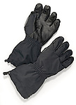 water proof black warm winter gloves
