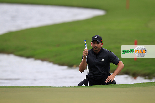 Sergio Garcia (ESP) during the final round of the WGC Cadillac Championship, Blue Monster, Trump National Doral, Doral, Florida, USA<br /> Picture: Fran Caffrey / Golffile