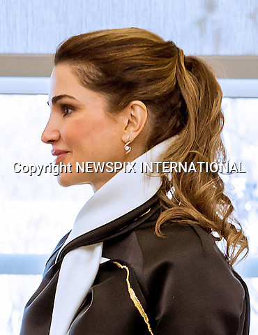 05.04.2017; Washington DC, USA: QUEEN RANIA AND FIRST LADY MELANIA TRUMP<br />