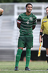 31 August 2014: Stetson's JJ Bostic. The Duke University Blue Devils hosted the Stetson University Hatters at Koskinen Stadium in Durham, North Carolina in a 2014 NCAA Division I Men's Soccer match. Duke won the game 8-2.