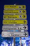 Havana Tourist Signs