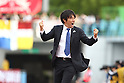 Naoki Soma (Frontale), MAY 15th, 2011 - Football : Kawasaki Frontale head coach Naoki Soma celebrates his team's second goal during the 2011 J.League Division 1 match between Kawasaki Frontale 3-2 Kashima Antlers at Todoroki Stadium in Kanagawa, Japan. (Photo by Kenzaburo Matsuoka/AFLO).