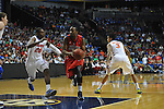 Ole Miss' LaDarius White (10) vs. Florida's Michael Frazier II (20) in the SEC championship game at Bridgestone Arena in Nashville, Tenn. on Sunday, March 17, 2013.