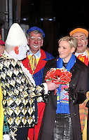 Monaco - The Princely family Of Monaco attends the 37th Circus Festival Opening