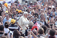 Pope Benedict XVI during his weekly general audience in St. Peter square at the Vatican, Wednesday. 3 October, 2012